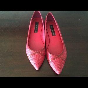 Dark Pink Steve Madden Flats